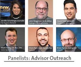 advisor outreach panelists