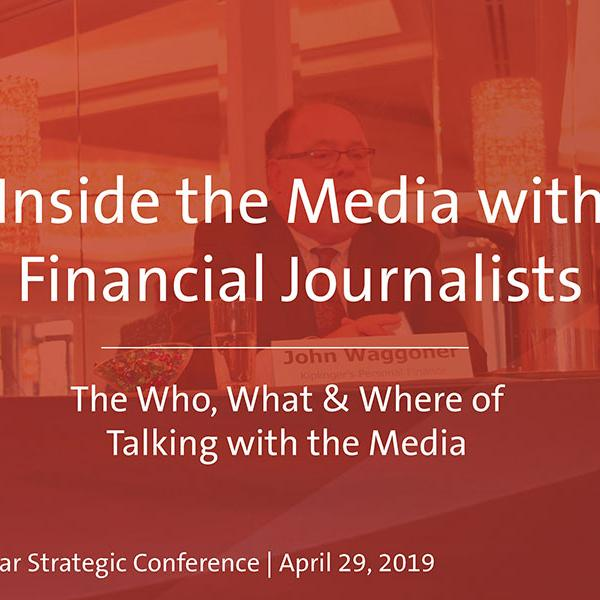 Inside The Media With Financial Journalists | Video